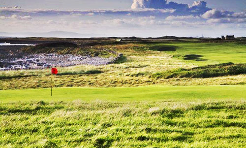 Royal Porthcawl - hole 1 & 18