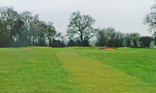 Chartridge Park Golf Club - hole 1